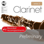 AMEB CLARINET PRELIMINARY SERIES 3 RECORDED ACCOMP CD