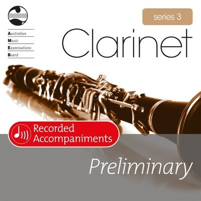 CLARINET PRELIMINARY SERIES 3 RECORDED ACCOMP CD