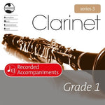 CLARINET GRADE 1 SERIES 3 RECORDED ACCOMP CD
