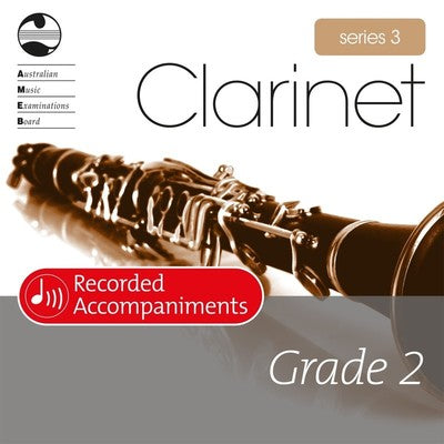 AMEB CLARINET GRADE 2 SERIES 3 RECORDED ACCOMP CD