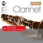 AMEB CLARINET GRADE 3 SERIES 3 RECORDED ACCOMP CD