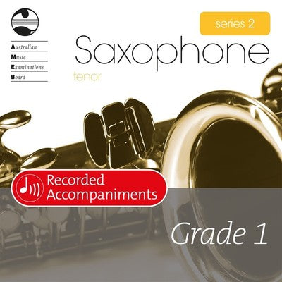 AMEB TENOR SAX GRADE 1 SERIES 2 RECORDED ACCOMP CD