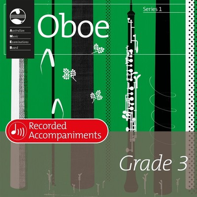 AMEB OBOE GRADE 3 SERIES 1 RECORDED ACCOMP CD