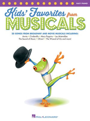 KIDS FAVORITES FROM MUSICALS EASY PIANO