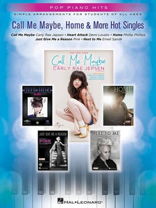 CALL ME MAYBE HOME & MORE HOT SINGLES POP PIANO