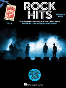 ROCK HITS ROCK BAND CAMP V4 BK/2CD