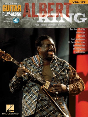 ALBERT KING GUITAR PLAY ALONG V177 BK/CD