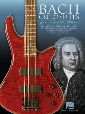 BACH CELLO SUITES FOR ELECTRIC BASS TAB