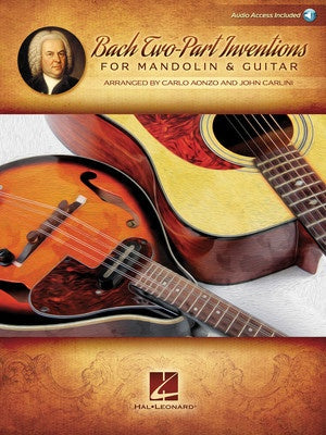 TWO INVENTIONS FOR MANDOLIN & GUITAR BK/OLA