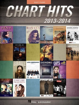 CHART HITS OF 2013 - 2014 EASY PIANO