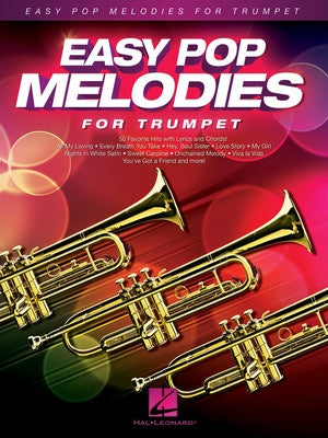 EASY POP MELODIES FOR TRUMPET