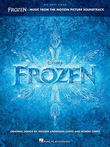 FROZEN FROM THE MOTION PICTURE BIG NOTE PIANO