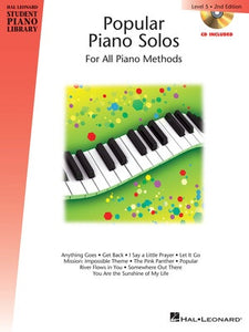 HLSPL POPULAR PIANO SOLOS BK 5 BK/CD 2ND ED