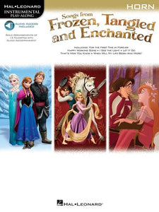 SONGS FROM FROZEN TANGLED & ENCHANTED HORN OLA