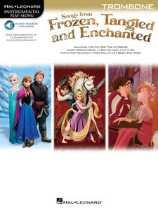 SONGS FROM FROZEN TANGLED & ENCHANTED TROMBONE O
