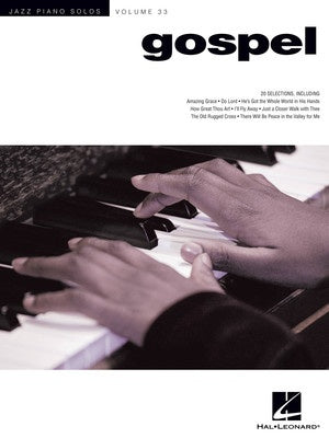 GOSPEL JAZZ PIANO SOLOS V33 JPS