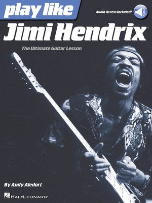 PLAY LIKE JIMI HENDRIX BK/OLA