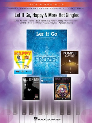 LET IT GO HAPPY & MORE HOT SINGLES PPH EASY PIAN