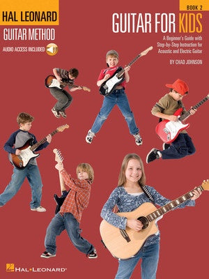HL GUITAR FOR KIDS METHOD BK 2 BK/OLA
