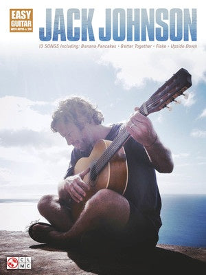 JACK JOHNSON EASY GUITAR NOTES & TAB