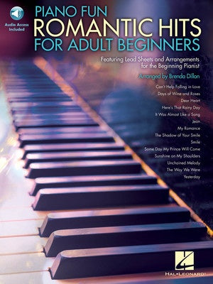 PIANO FUN ROMANTIC HITS FOR ADULT BEGINNERS