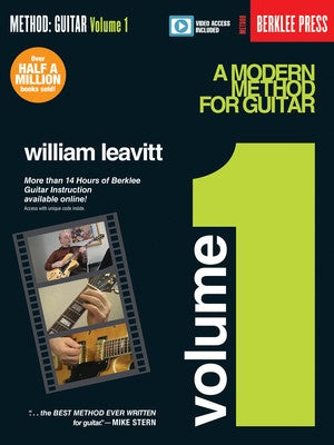 MODERN METHOD FOR GUITAR VOL 1 BK/OLV