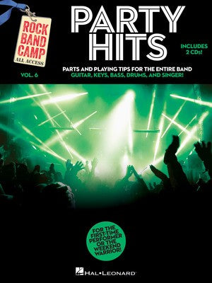 PARTY HITS ROCK BAND CAMP V6 BK/2CD