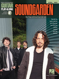 SOUNDGARDEN GUITAR PLAY ALONG V182 BK/OLA