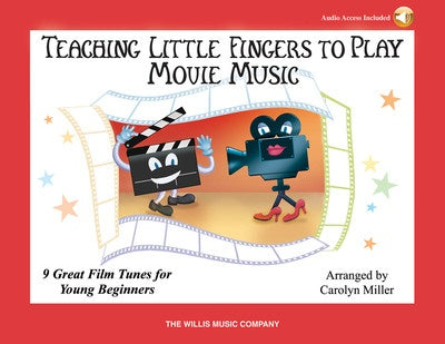 TEACHING LITTLE FINGERS MOVIE MUSIC BK/OLA
