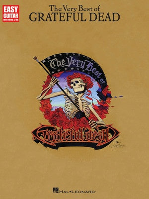VERY BEST OF GRATEFUL DEAD EASY GUITAR