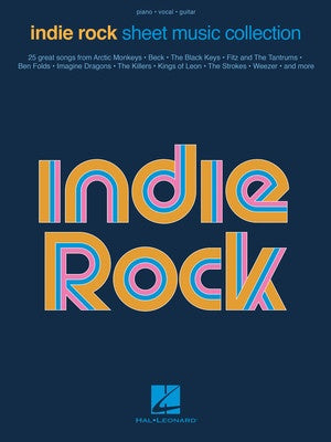 INDIE ROCK SHEET MUSIC COLLECTION PVG