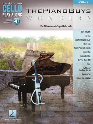 WONDERS CELLO PLAY ALONG V1 BK/OLA