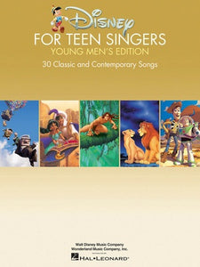 DISNEY FOR TEEN SINGERS YOUNG MENS EDITION