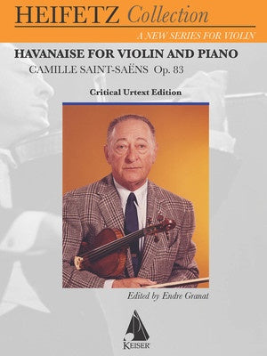 HAVANAISE FOR VIOLIN AND PIANO