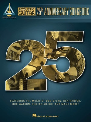ACOUSTIC GUITAR 25TH ANNIVERSARY SONGBOOK TAB
