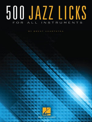 500 JAZZ LICKS ALL INSTRUMENTS