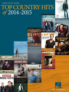 TOP COUNTRY HITS OF 2014 - 2015 PVG