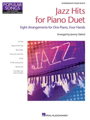 JAZZ HITS FOR PIANO DUET
