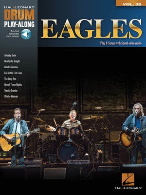 EAGLES DRUM PLAYALONG V38 BK/OLA
