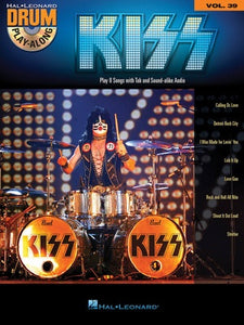 KISS DRUM PLAYALONG V32 BK/CD