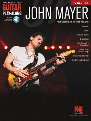 JOHN MAYER GUITAR PLAYALONG V189 BK/OLA