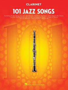 101 JAZZ SONGS FOR CLARINET