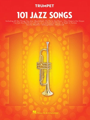 101 JAZZ SONGS FOR TRUMPET