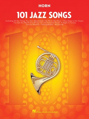 101 JAZZ SONGS FOR HORN