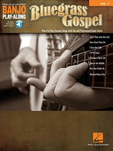 BLUEGRASS GOSPEL BANJO PLAYALONG V7 BK/OLA