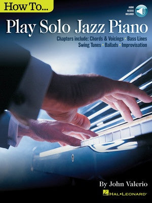 HOW TO PLAY SOLO JAZZ PIANO BK/OLA