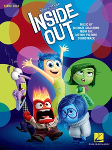 INSIDE OUT DISNEY MOVIE PIANO SOLO
