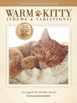 WARM KITTY (THEME AND VARIATIONS) PIANO S/S