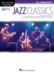 JAZZ CLASSICS FOR CLARINET BK/OLA