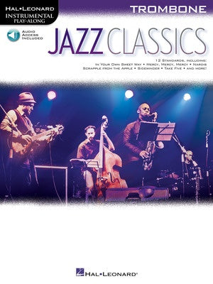 JAZZ CLASSICS FOR TROMBONE BK/OLA